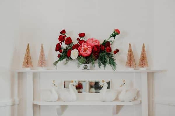 Christmas Table Arrangement -