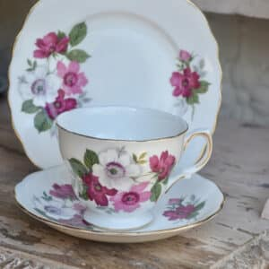 VintageTea Cup Posies -